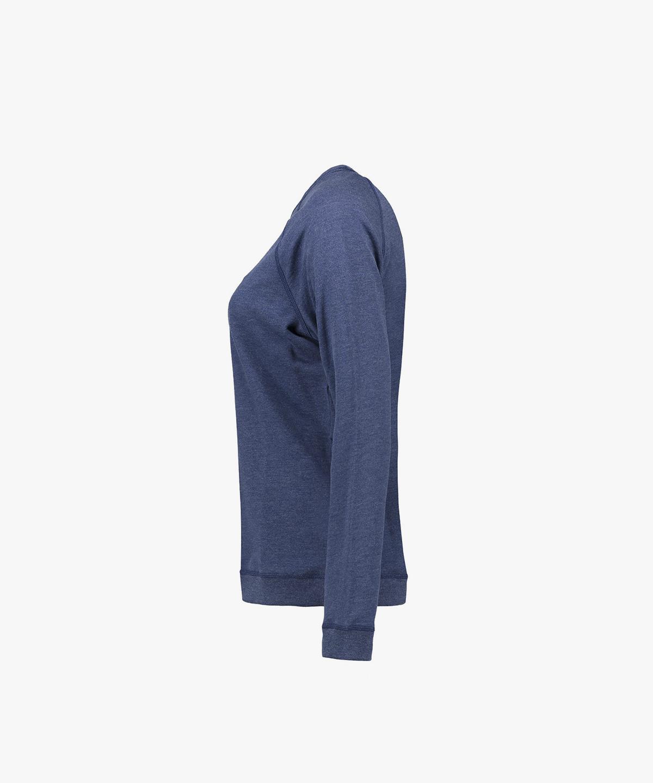 Blå Melange